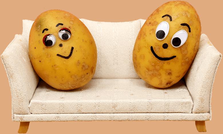 a happy head potato couch