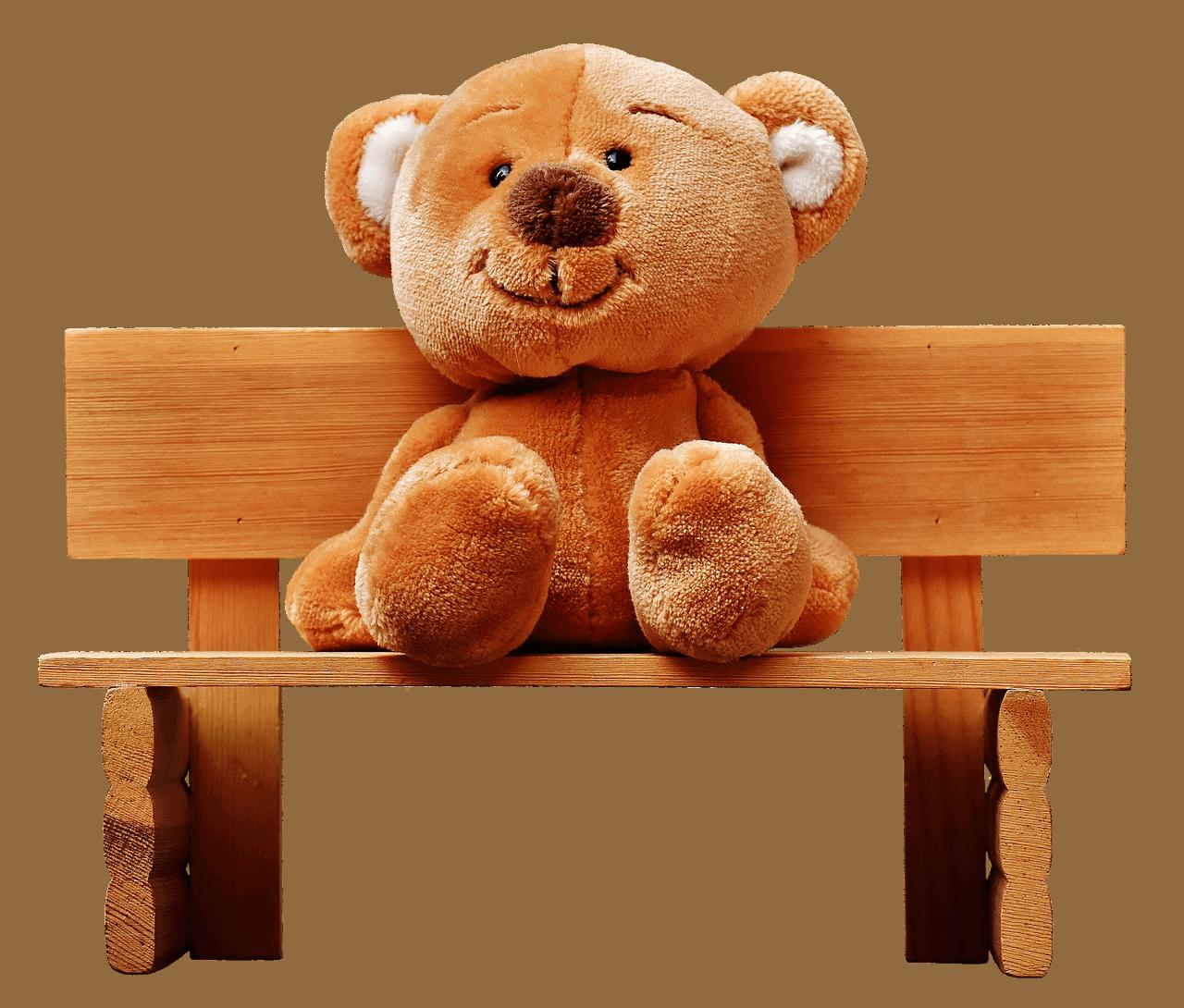 a happy head teddy